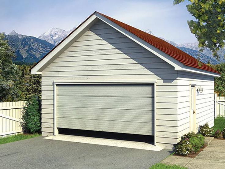 047g 0002 Detached 2 Car Garage Plan Available In Multiple Sizes