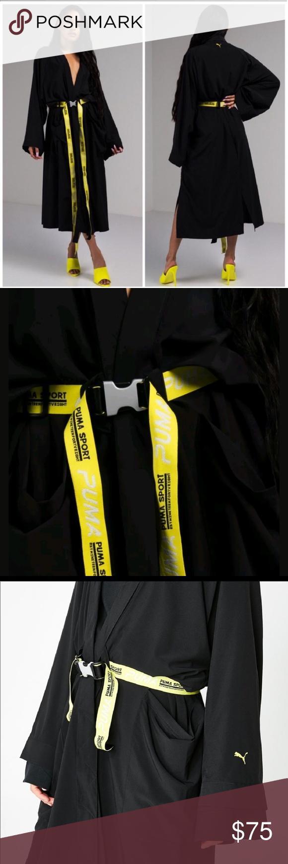 Ambasciata Imperativo drifting  Puma Long Black Xtreme Tape Belted Kimono Robe XL | Belt kimono, Clothes  design, Kimono robe