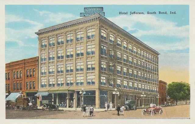 South Bend Indiana Hotel Jefferson