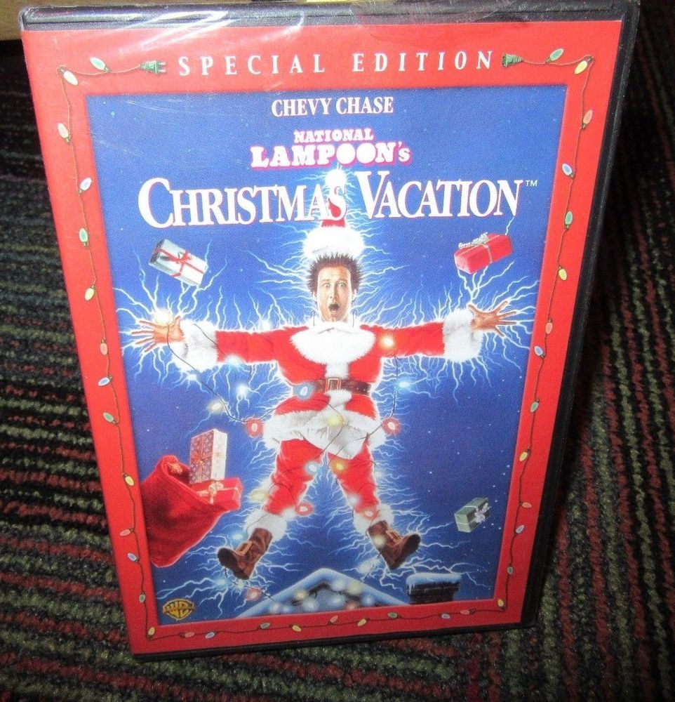 national lampoons christmas vacation dvd movie special edition chevy chase - National Lampoons Christmas Vacation Dvd