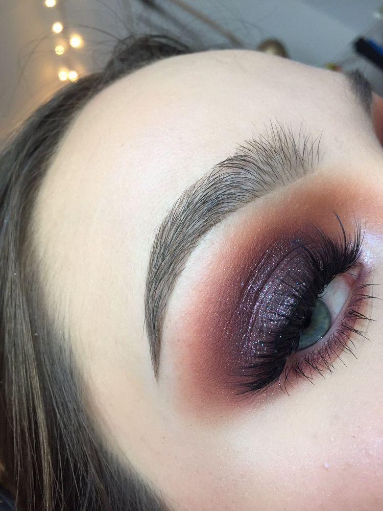 Photo of Purple Smokey Eye Makeup