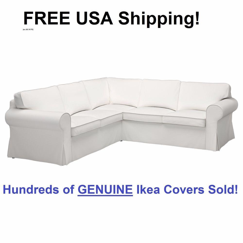 Terrific Ikea Ektorp 4 Seat Corner Sectional Sofa Slipcover Cover Creativecarmelina Interior Chair Design Creativecarmelinacom