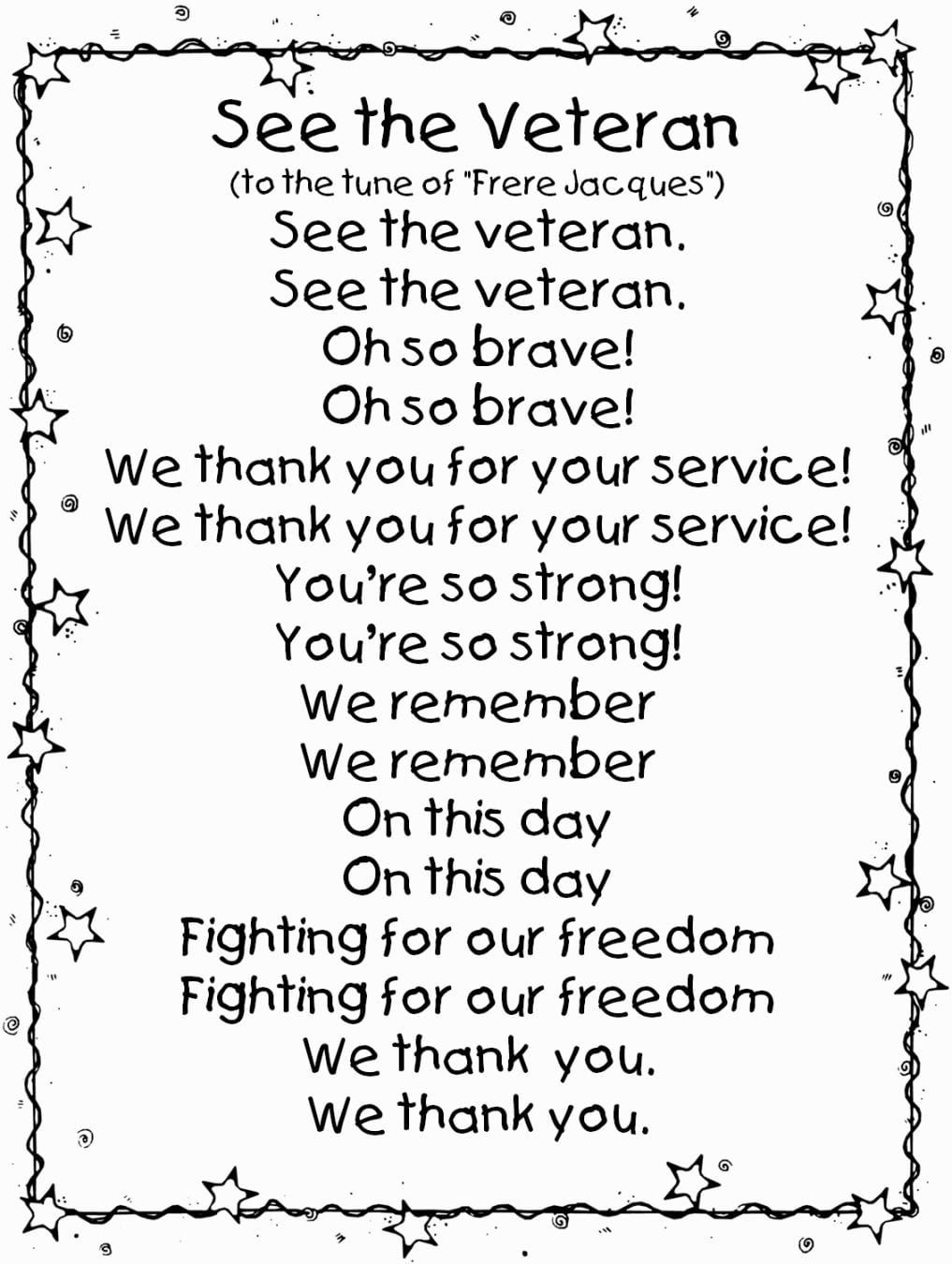 Coloring Pages Of Veterans Day Veterans Day Songs Veterans Day Activities Veterans Day Poem [ 1350 x 1017 Pixel ]
