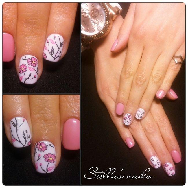 nails.quenalbertini2: Detailed pattern by StellaSam | Nail Art ...