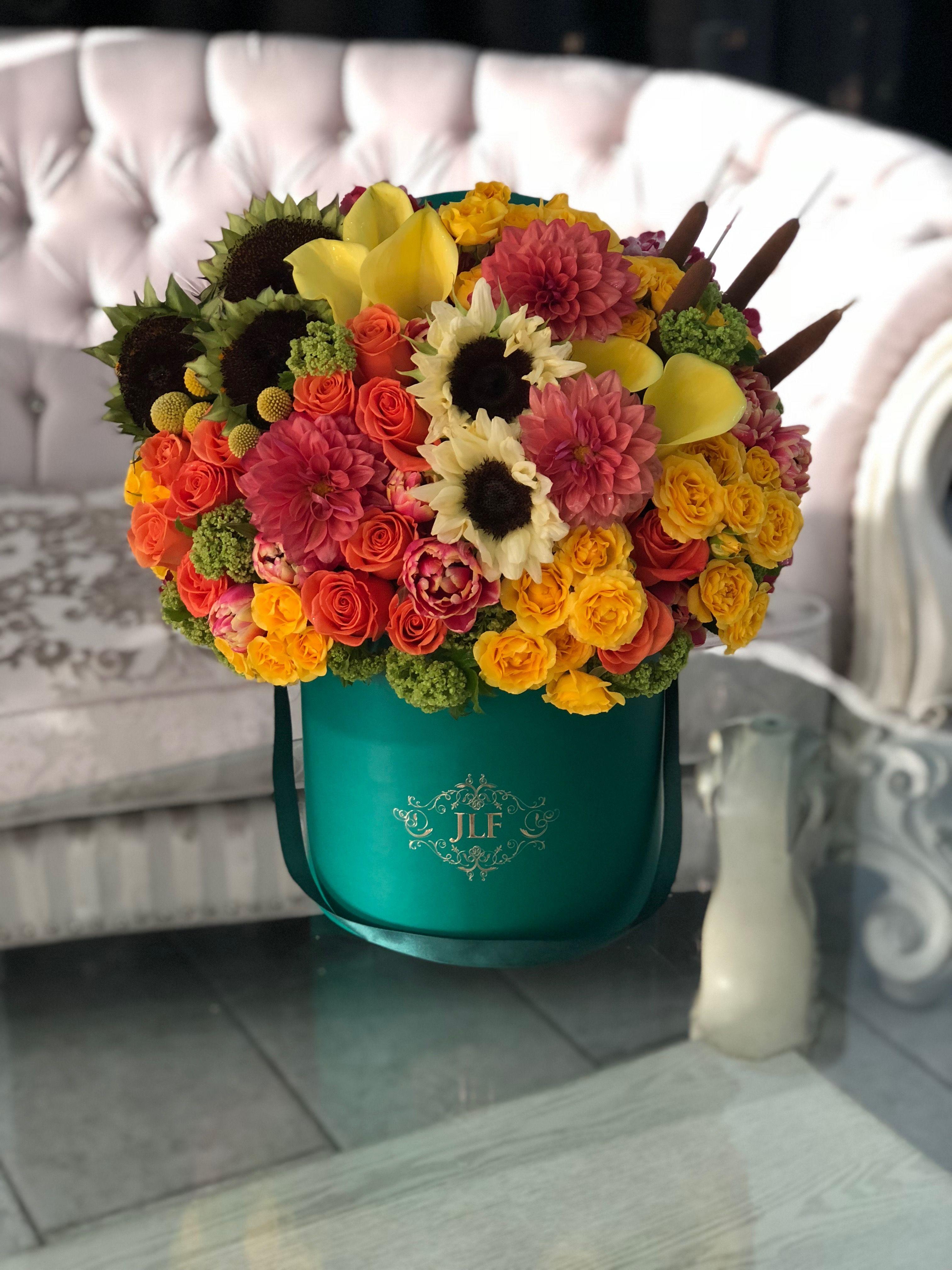Jlf Flowers Fall Sunflowers Callalily Orangeroses Same Day Flower Delivery Flower Delivery Order Flowers Online