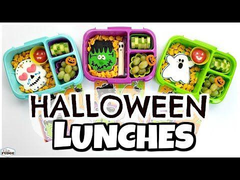 School Lunch Ideas For HALLOWEEN