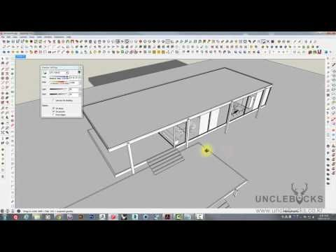 UncleBucks ( V-Ray for SketchUp_ Part01 - Sun 태양광 다루기 ) unclebucks.co.kr - YouTube