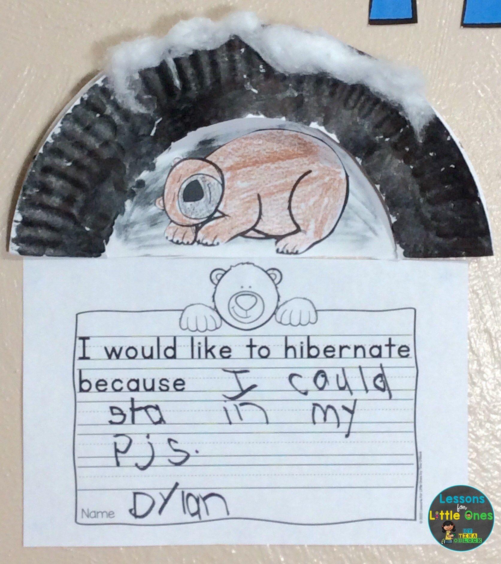 Free Hibernation Activities