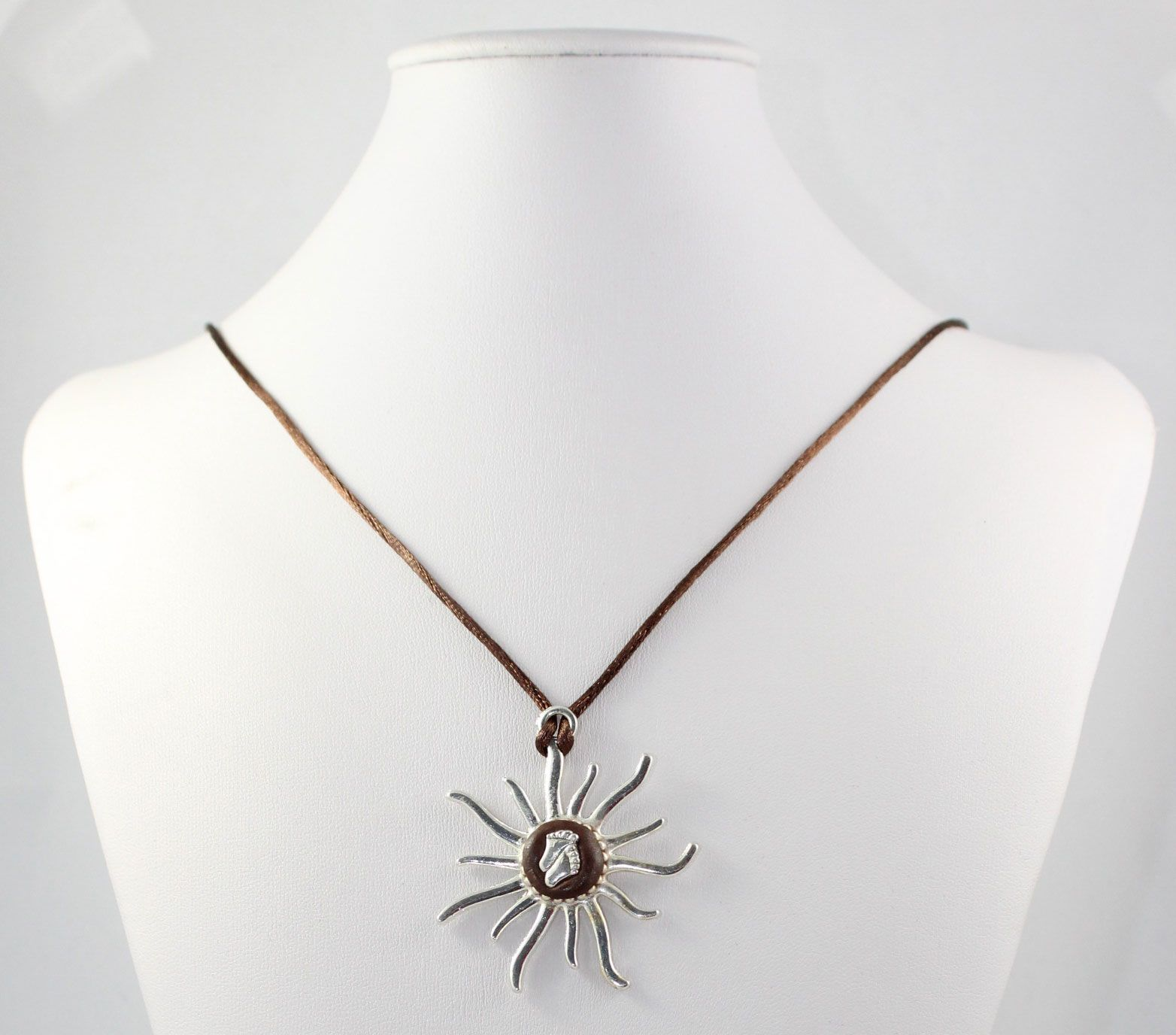 Star With Feet Necklace