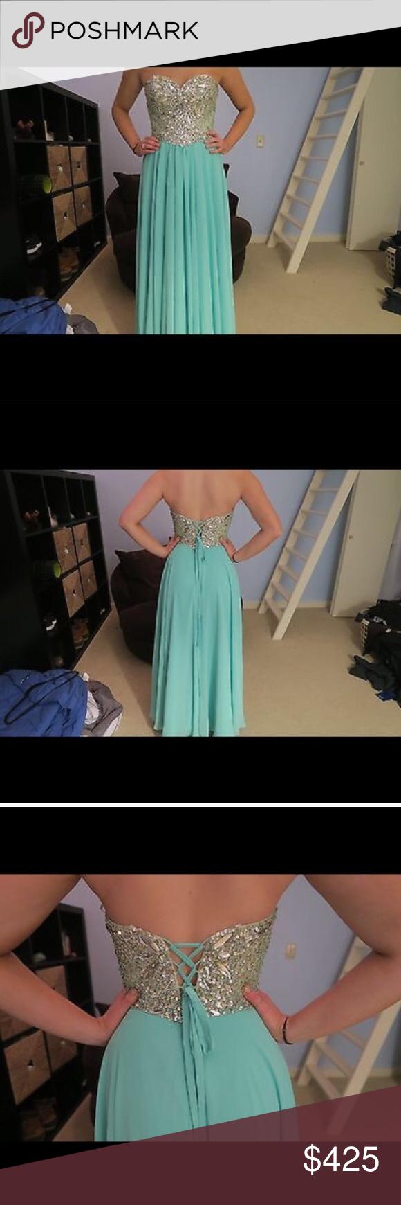Authentic terani prom dress