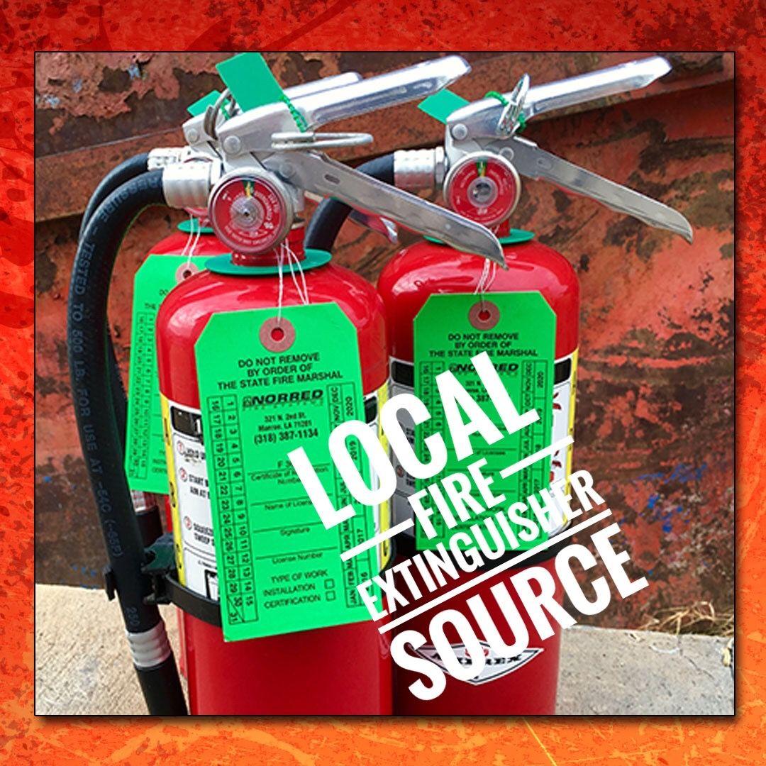 Local Fire Extinguisher Source Monroe LA (318) 3871134