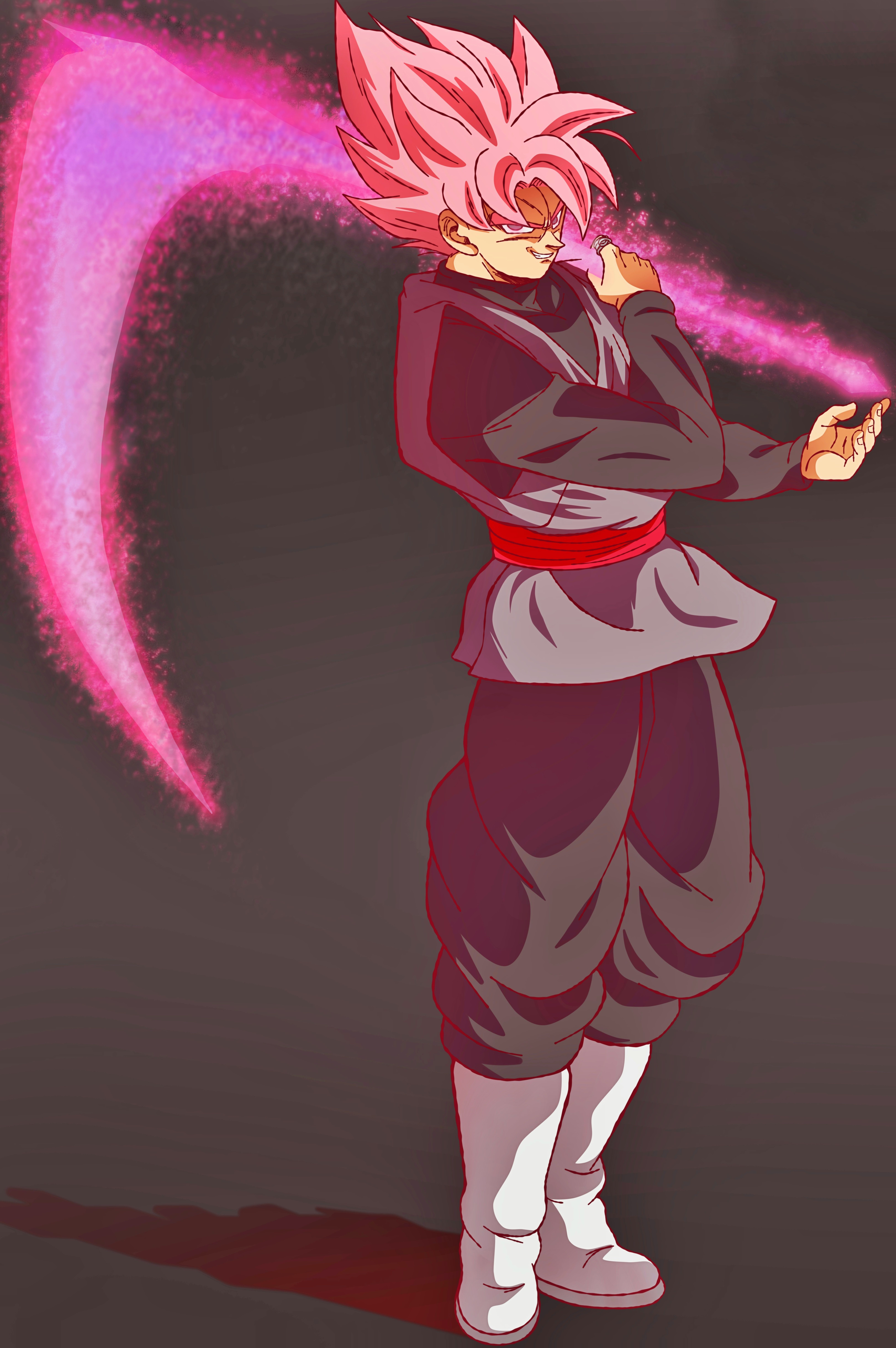 Black Goku Ssj Rose Anime Dragon Ball Super Dragon Ball Art Dragon Ball Wallpapers