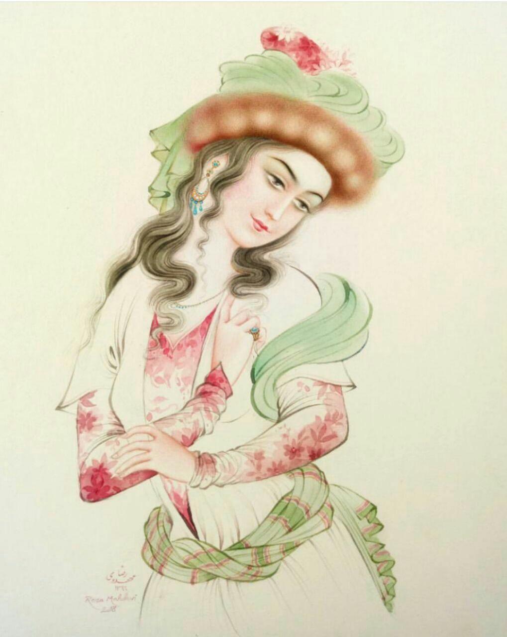 پوستر نقاشی استاد فرشچیان