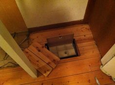 Diy secret hidden safe under sliding floor quick easy for Hidden floor safe