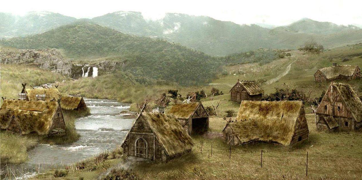 Viking Village Viking Village Viking House Viking Age