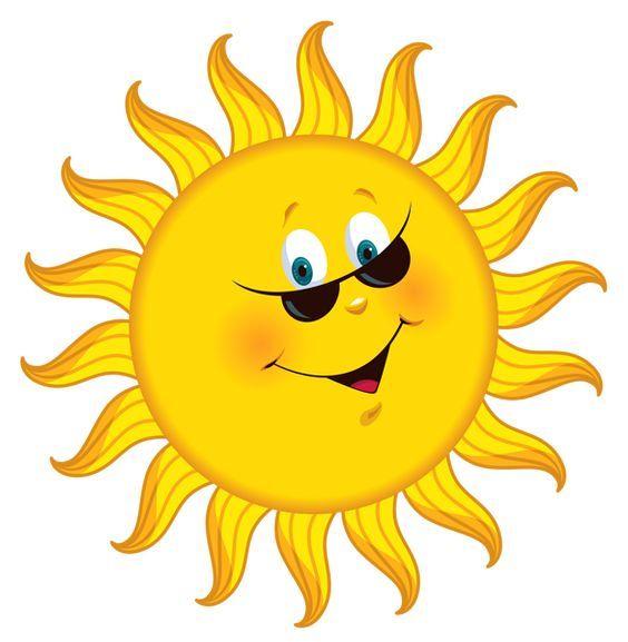 Pin By Heidi Parker On Be Happy Think Positive Cartoon Sun Happy Sun Clip Art