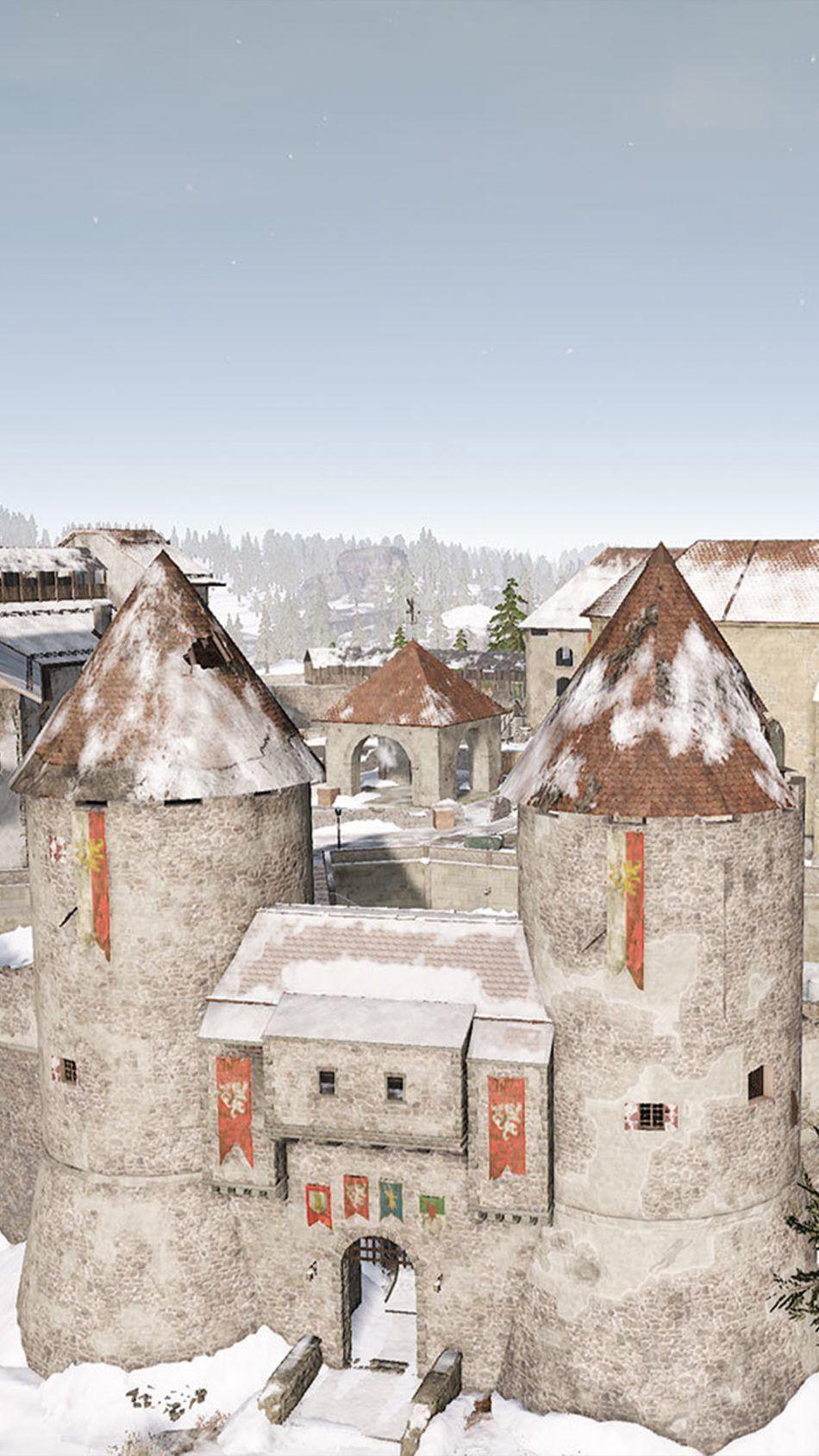 Pubg Castle Vikendi Playerunknown S Battlegrounds Playerunknown S
