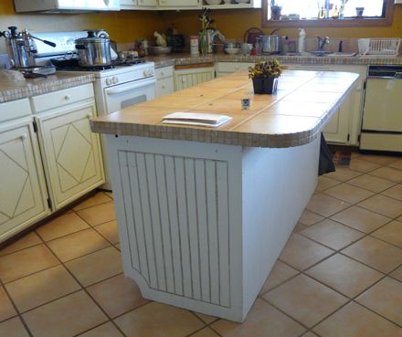 cheap kitchen island upgrade | Houses and Decorating | Pinterest ...