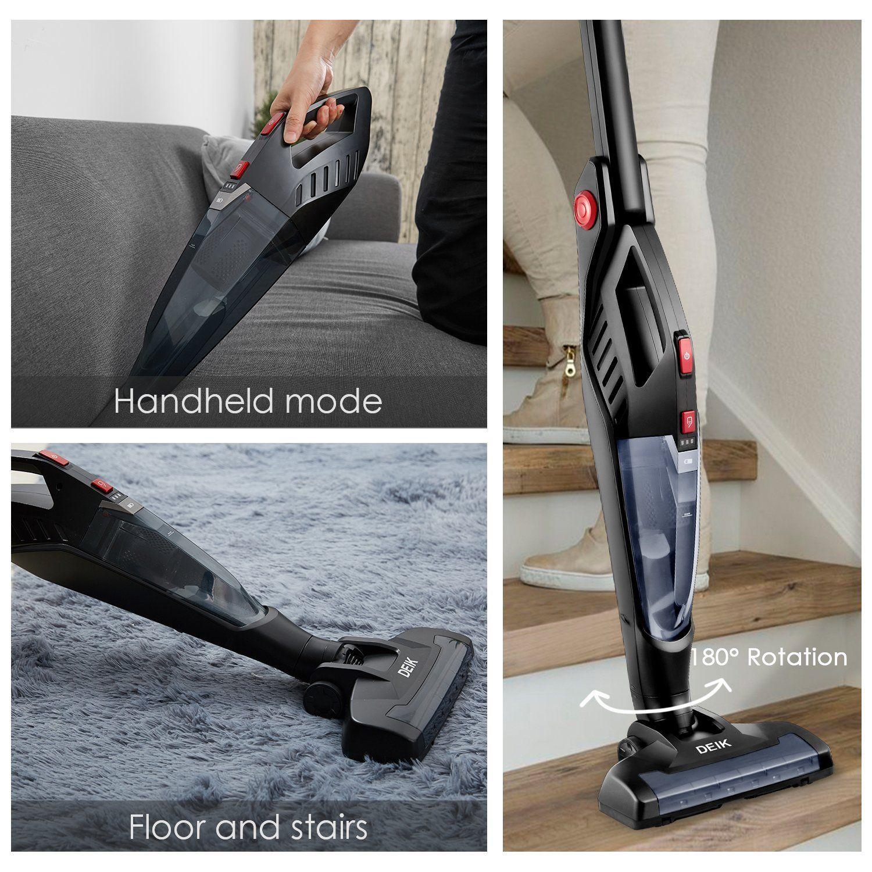 Deik 2 In 1 Cordless Vacuum 71 24 Vacuum Cleaner Best Vacuum Home Tools