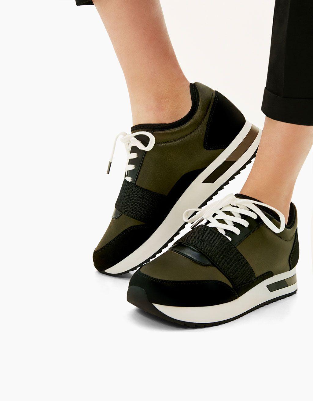 Chaussures à élastique Fashion femme fwhBnA