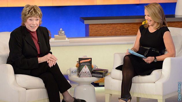 """Win a Signed Copy of """"What If…"""" by Shirley MacLaine & """"Downton Abbey"""" on DVD! – Katie Couric"""