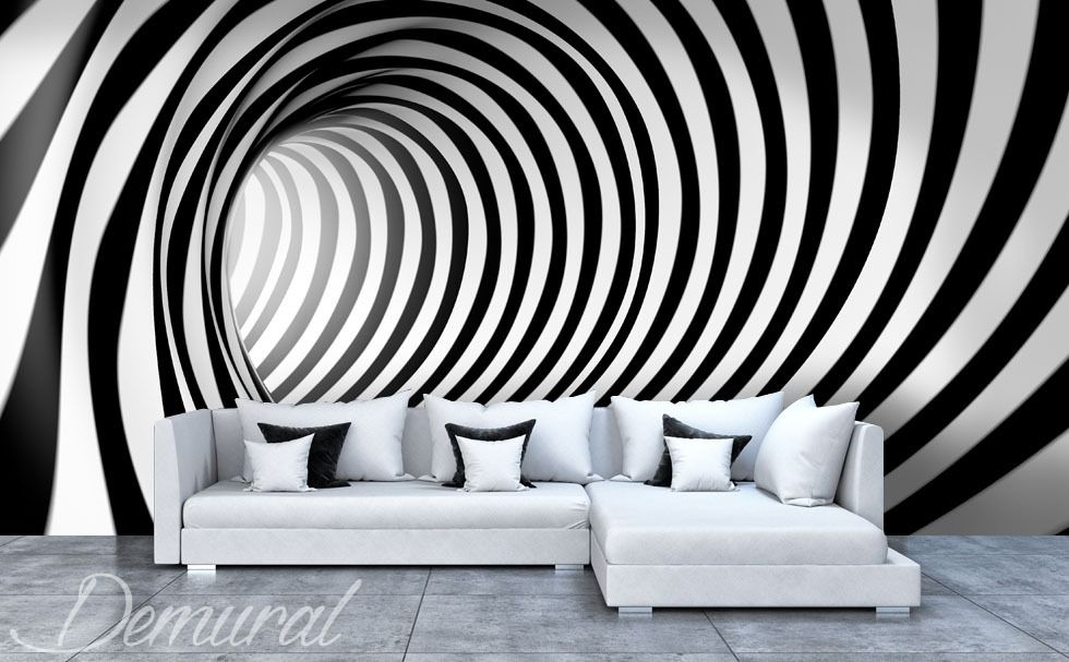 One Two Three You Are Hipnotised Wall Art Wallpaper Wall Paint Designs Wall Painting Decor