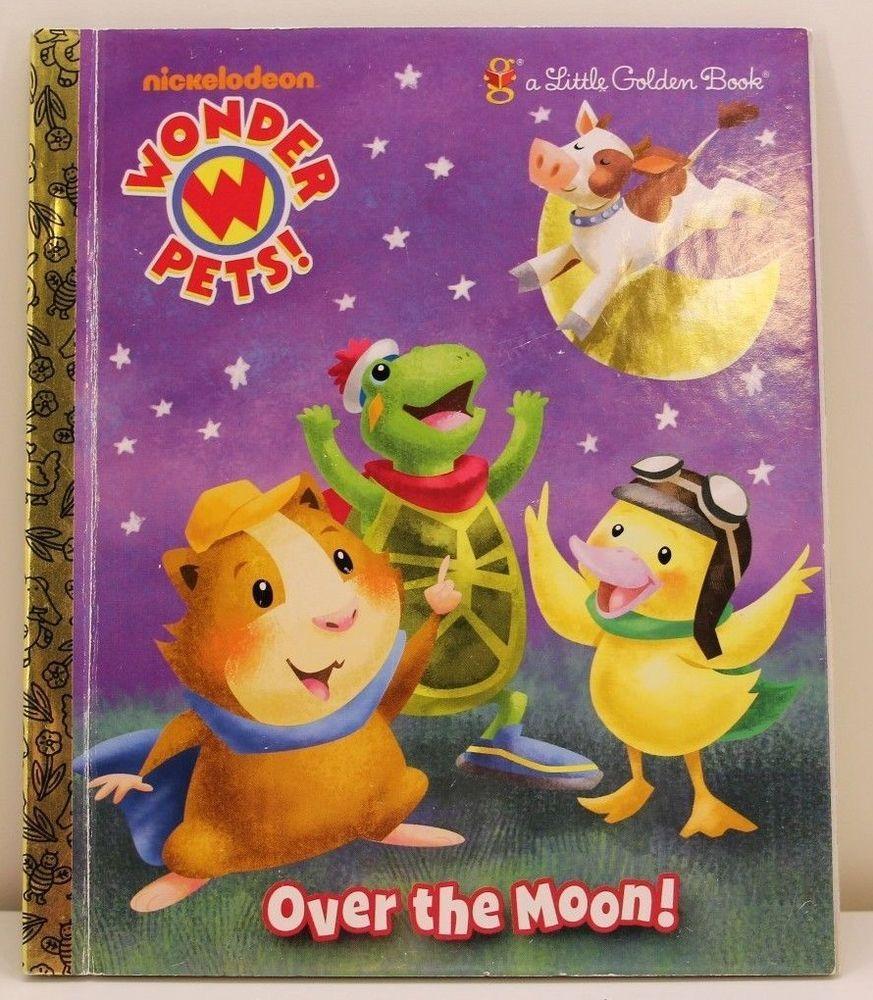 Nickelodeon Nick Jr Wonder Pets OVER THE MOON! A Little Golden ...