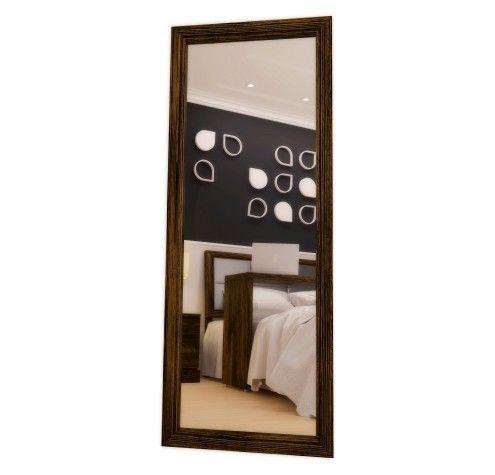 Espelho de Chão / Linha Daisy-Mel - Escovado