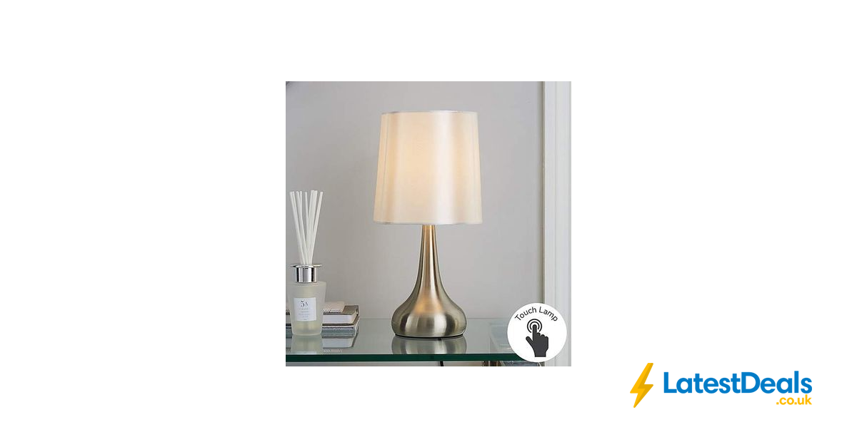 Rimini Touch Lamp Free C C 6 40 At Dunelm In 2020 Touch Lamp