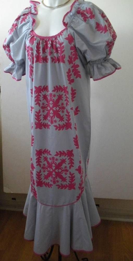 1d758a16885 Vintage Hawaiian Muumuu Dress Yens Casual made in Hawaii Ruffled Size Small  S  YensCasualFashion  Muumuu  Casual