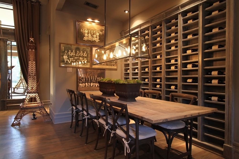 Wine Wall In Dining Area Must Have