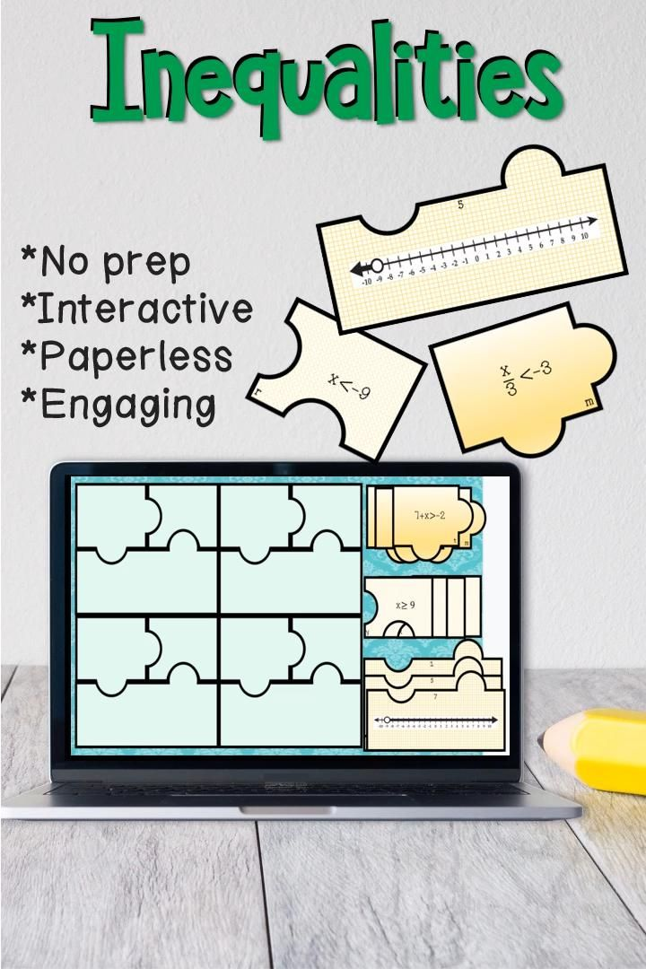 Solving And Graphing Inequalities Matching Digital Activity For Distance Learning Video In 2021 Math Activities Math Projects Math Lessons
