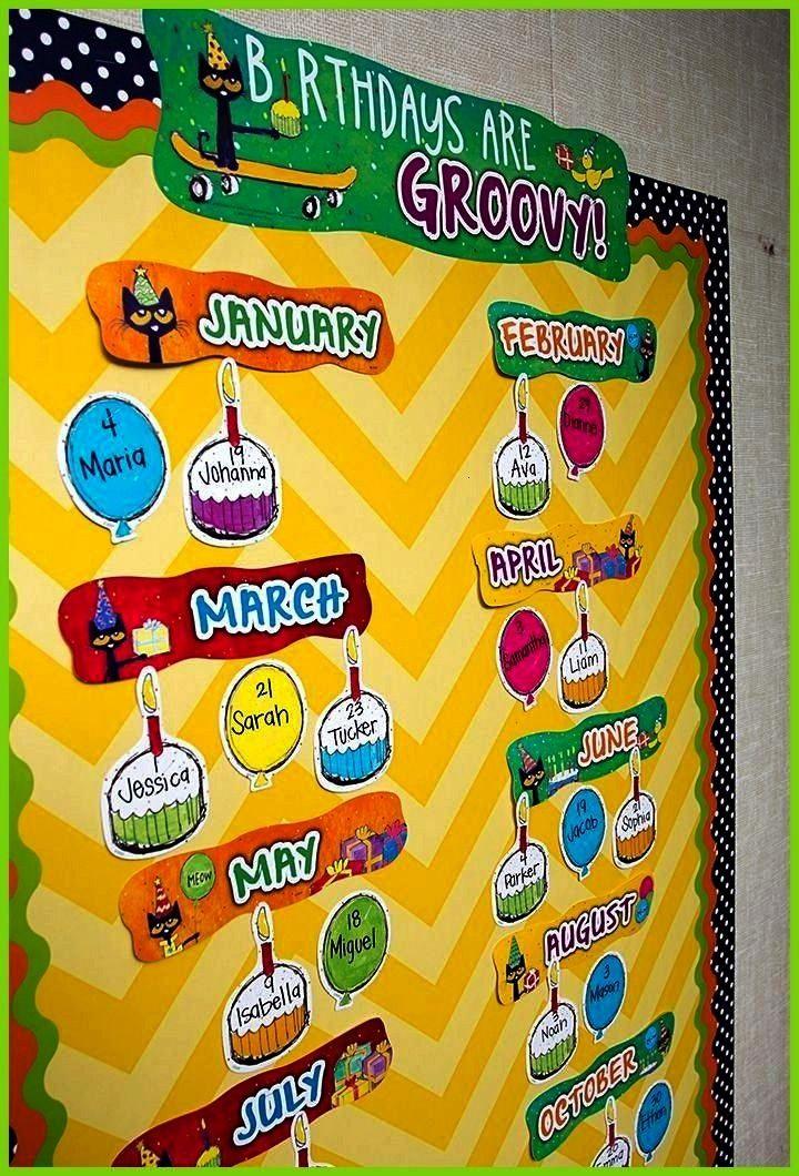 Cat Birthdays Are Groovy Mini Bulletin Board Birthdays are groovy when you celebrate with Pete the