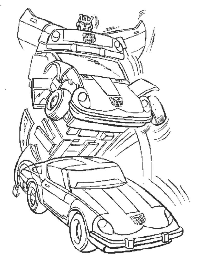 Bumblebee Coloring Pages Printable in 2020 Transformers