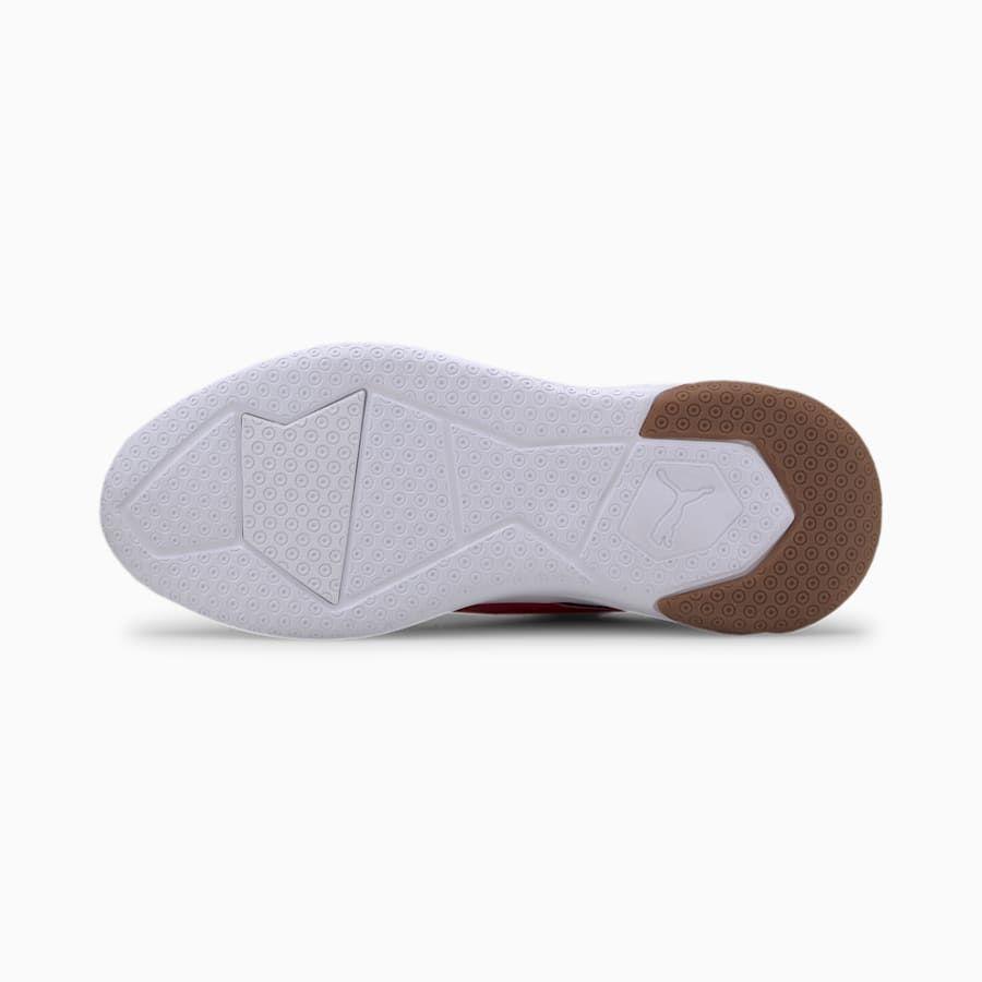 PUMA Chaussure Basket Ekstra, BlancNoirRouge, Taille 48.5
