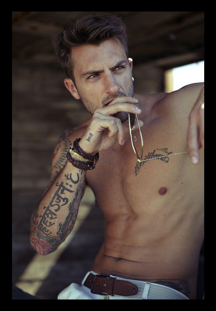 Boys with beard scruff and tattoos | Lady Boner | Tattoos ...