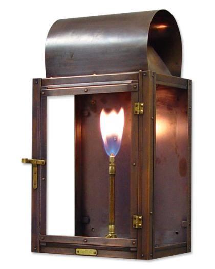 Bevolo Cotton Exchange Gas Light Gas Lights Lamps Historic Vintage Antique Lighting Copper