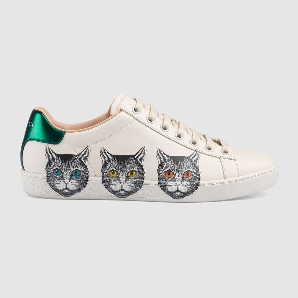 Photo of Gucci Women's Ace sneaker with Mystic Cat