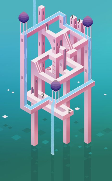"Feature Friday April 24th 2015Welcome to Feature Friday everyone! We've got a tranquil collection to help ease your minds into the weekend. Irina Mir went green and celebrated Earth Day with trixels! After falling in love with Monument Valley, Kaila M Anderson recreated the aesthetics of the game in a level design of her own.And speaking of aesthetics…This is aesthetic!Original album art using Pixel mode by OCADU students. This playlist is entitled ""Departure"". Check it out here! #albumart"