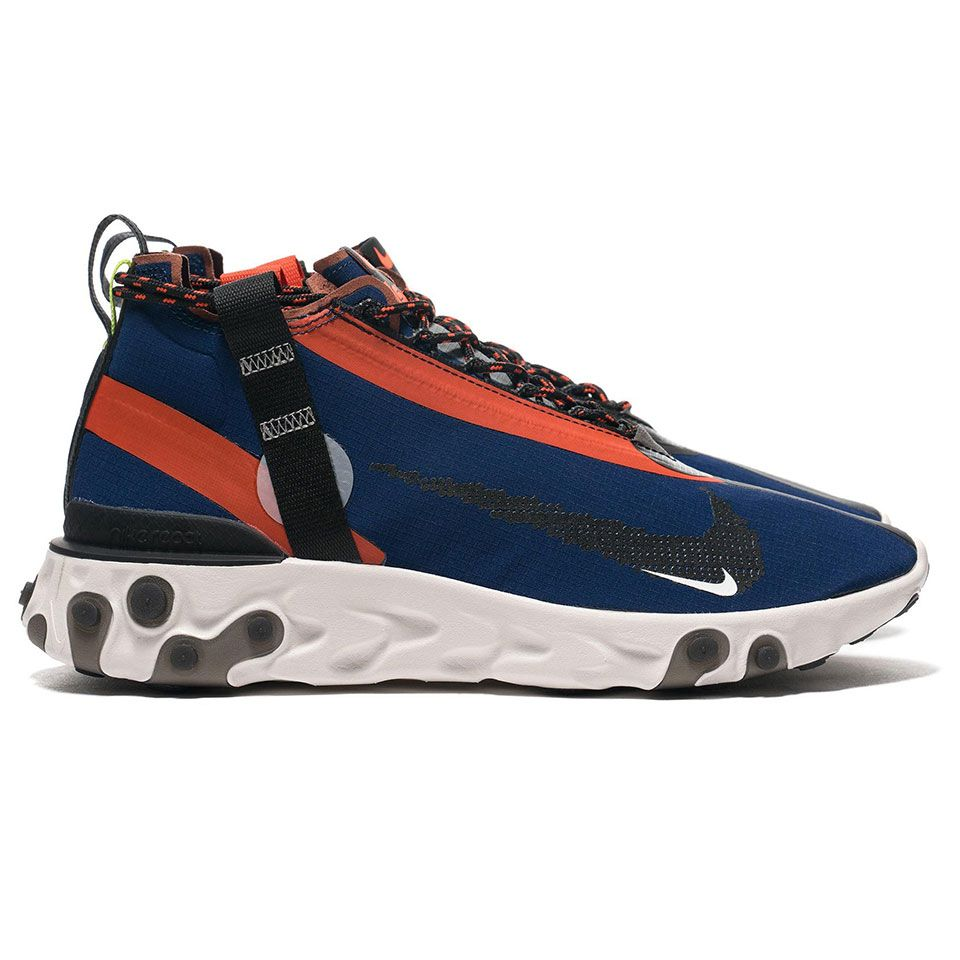 Contradicción Emborracharse confiar  The Nike React Runner is a Comfortable Waterproof Running Shoe | Waterproof  running shoes, Mid top shoes, Nike