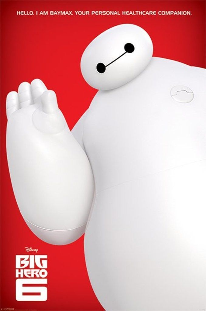 Big Hero 6 - I Am Baymax - Official Poster. Official Merchandise. Size: 61cm x…