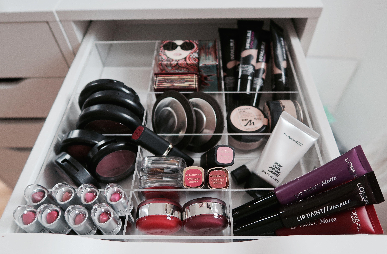 Kosmetik Aufbewahrung Ikea meine kosmetikaufbewahrung tidyups für den ikea alex
