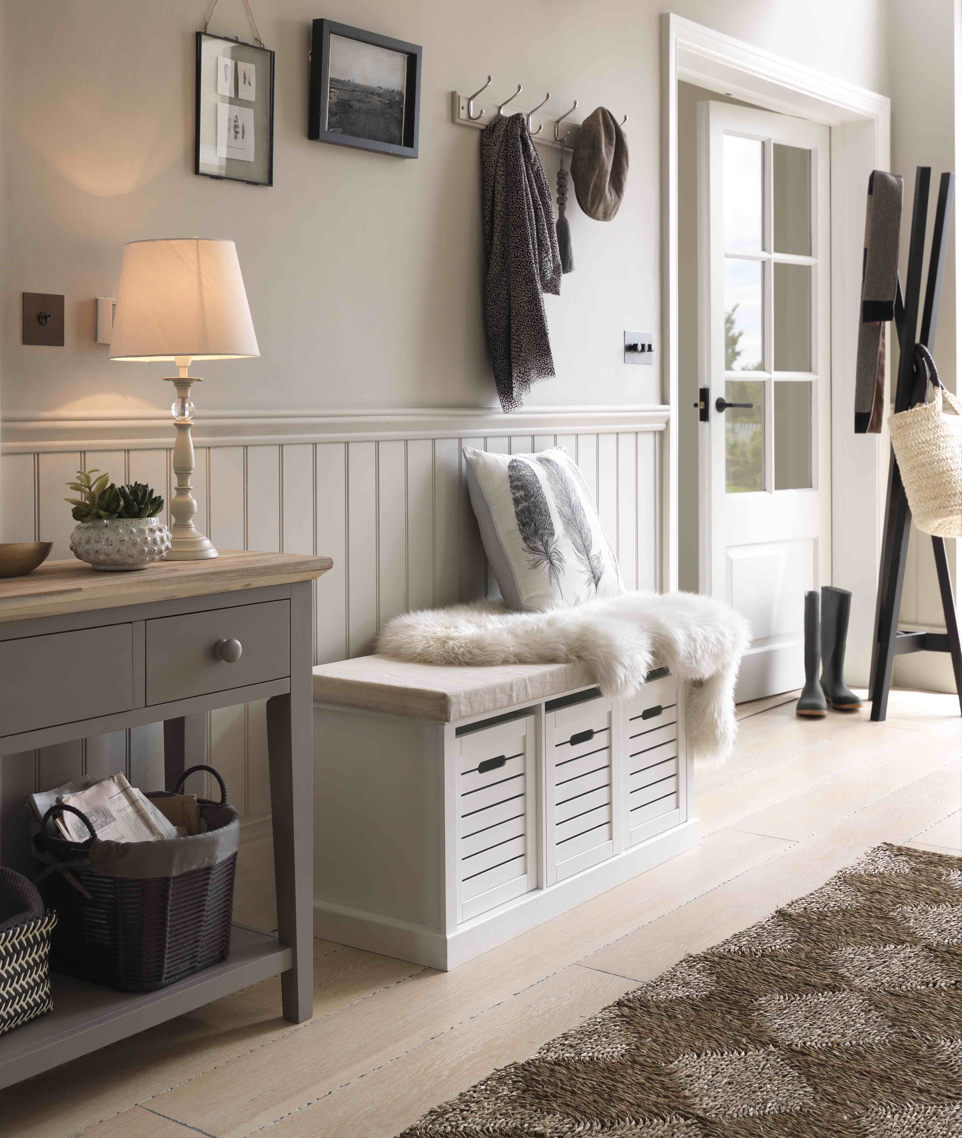 Hallway storage argos  The best kind of storage simply blends in to your décor Subtle
