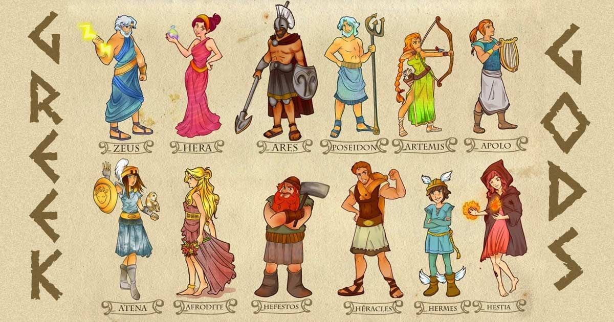 Best Mythological Names and Characters