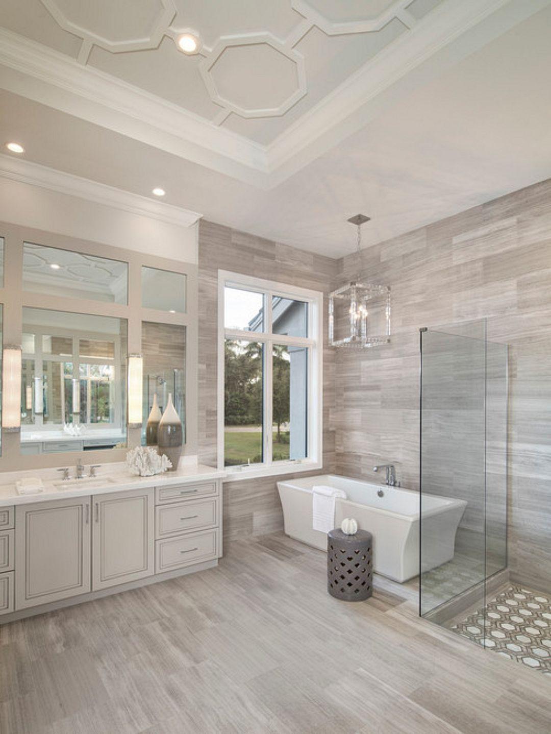 10+ Wonderful DIY Master Bathroom Ideas Remodel On a Budget images