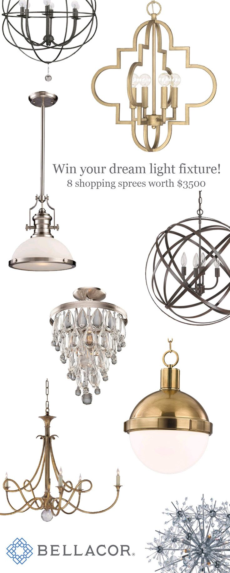 Lighting Tips For Every Room: Win 1 Of 8 Lighting Shopping Sprees And Win Lighting For