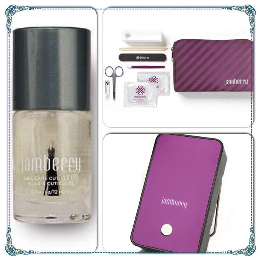 Jamberry nails Nail care Mini heater, application kit, & nail oil ...