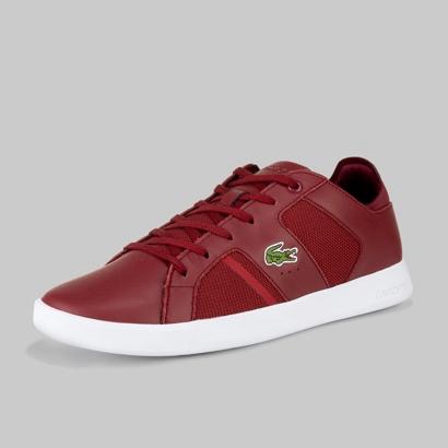 Lacoste Shoes Zapatillas Lacoste Azul Marino Rojo Chaymon In 2020 Lacoste Shoes Adidas Shoes Women Gucci Men Shoes