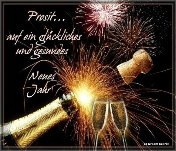 Pin von Karin Kramer auf Neujahr | Pinterest | Neujahr, Silvester ...
