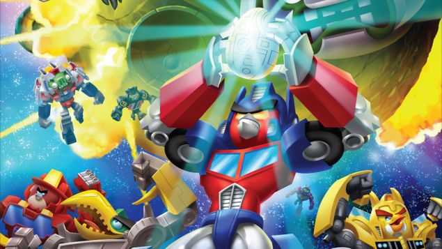 Nevermind Unicron Angry Birds Transformers Is Coming Com Imagens